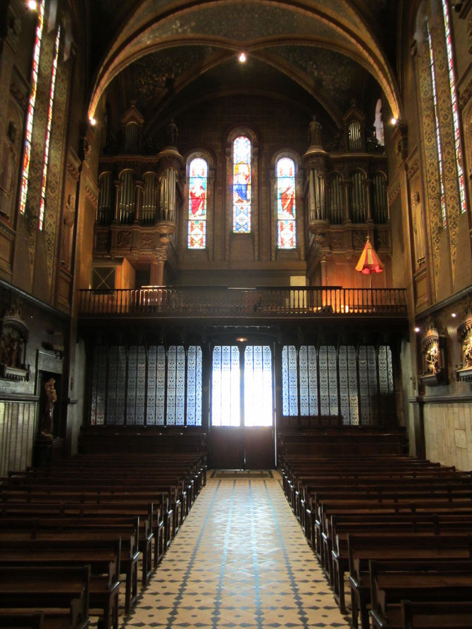 Nef et orgue
