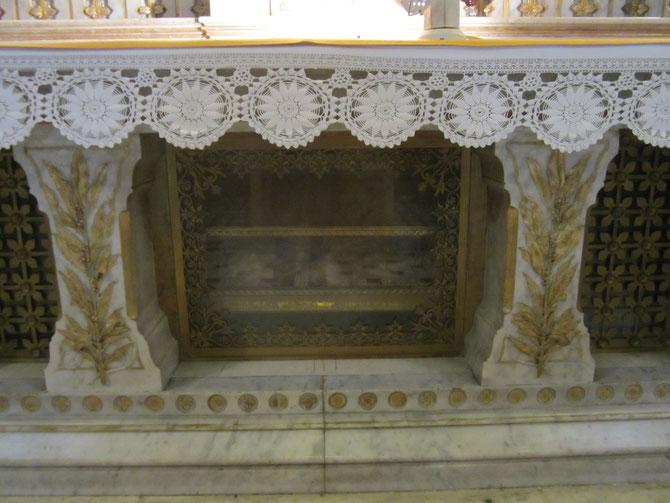 Reliquaire de Sainte Léontide