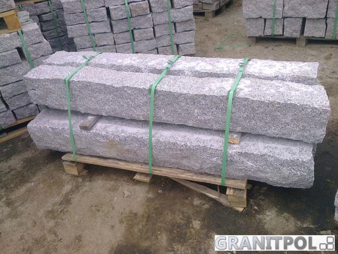 zaunpfosten aus granit pflastersteine aus polen granit. Black Bedroom Furniture Sets. Home Design Ideas