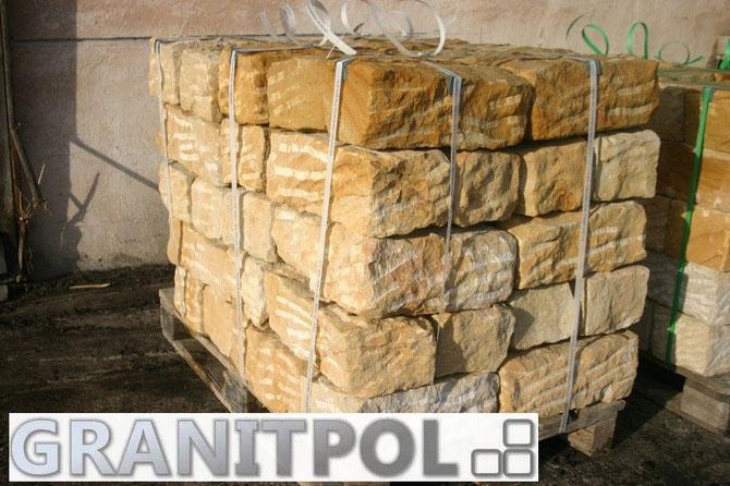 Schlesische Sandsteine in Berlin kaufen, günstige Mauersteine aus Sandstein Berlin und Potsdam kaufen