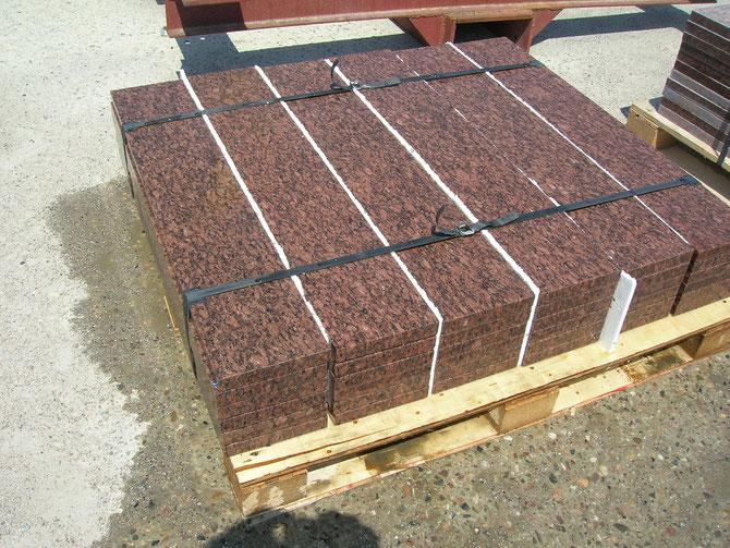 Granitstufen Vanga aus Schweden, Stufen aus Granit kaufen