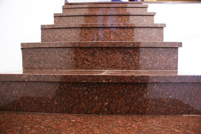 Granittreppe, Granitstufen Berlin, Granit Berlin