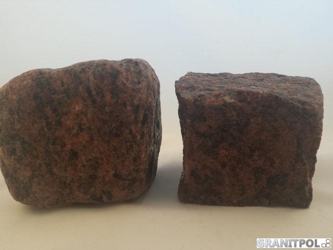 Mauersteine aus Granit