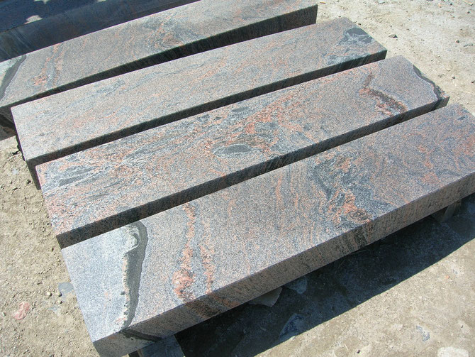 Blockstufen aus Granit, polnische Blockstufen aus Granit