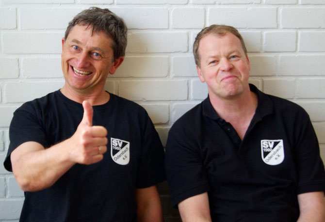 die zweitplazierten Uwe Richardt und Michael Leiner