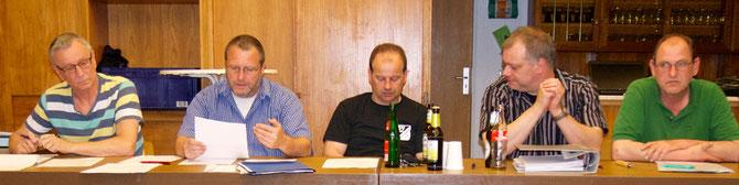 Neuer Vorstand: Schriftführer Wilfried Eger, 1. Vorsitzender Andreas Tropp, Zweite Vorsitzende: Thomas Hörr und Michael Österling, Kassenwart (bis auf Weiteres geschäftsführend): Klaus Steinbrecher