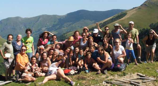 Culminación de una de las excursiones del pasado año. Pirinea 2012