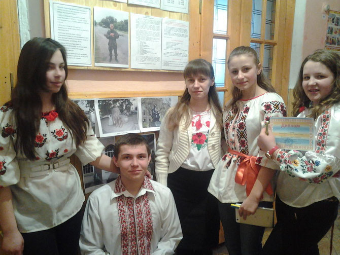 """Переможці конкурсу """"Знавці поезії Т.Г.Шевченка"""""""