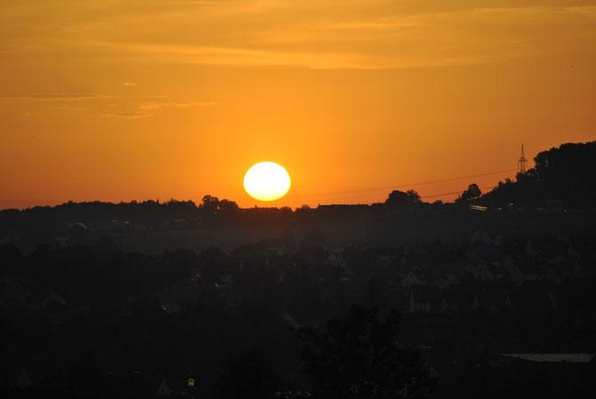 Sonnenaufgang am 18.06.