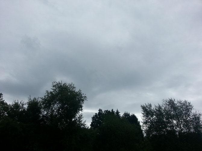 Dieses Wetter wird uns noch eine Weile begleiten