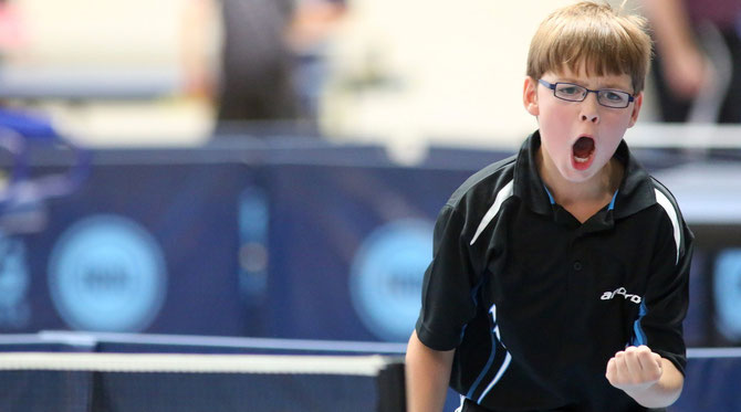 Bastian Steeg gewann bei den Bezirksmeisterschaften die C-Schüler-Konkurrenz.