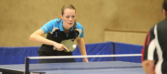 Kyra Liepach errang zwei Einzel und einen Doppelsieg.