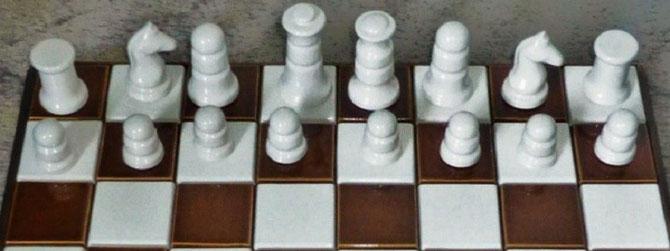 King 8cm   Pawn 3,5cm