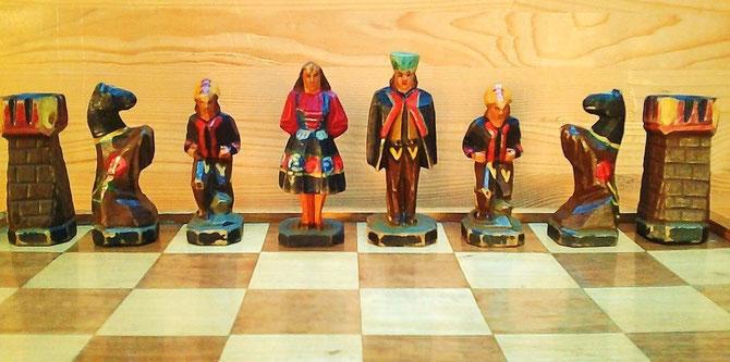 King 8cm    Pawn 5cm