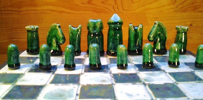 King 6cm  Pawn 2,7cm