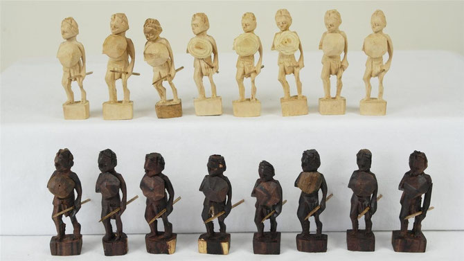 Pawns as tribal figures