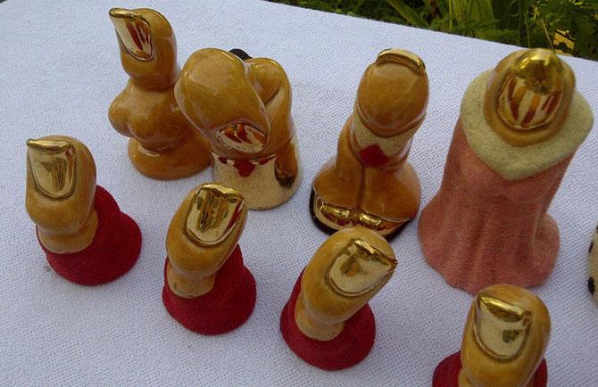 King 12cm   Pawn 7cm