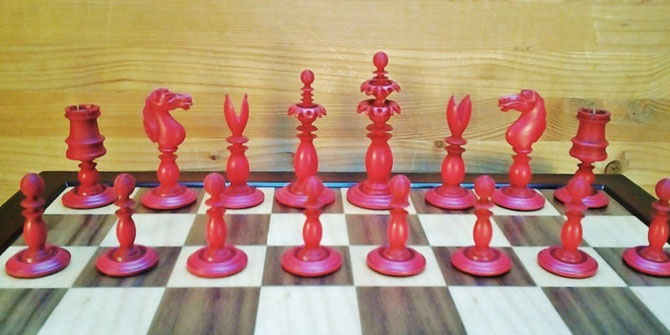 King 8cm  Pawn 4cm