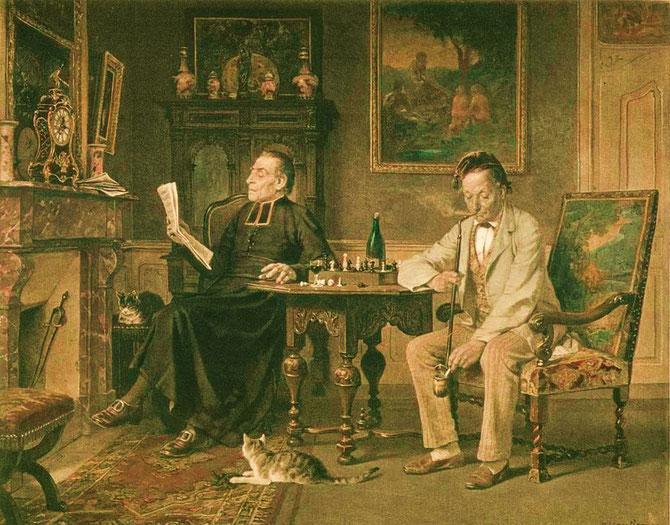 B.Vautier (1829-1898)