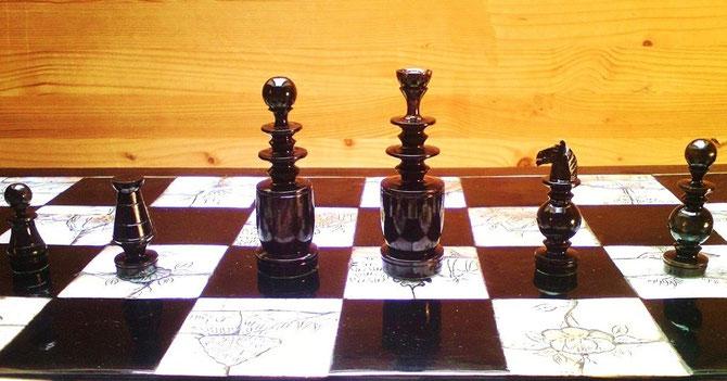 King 6,2cm   Pawn 2,8cm