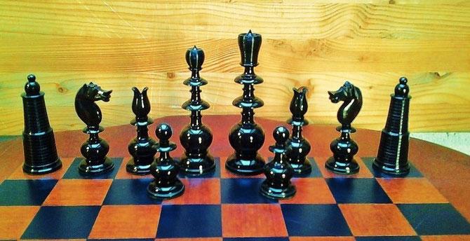 King 10cm  Pawn 4,3cm