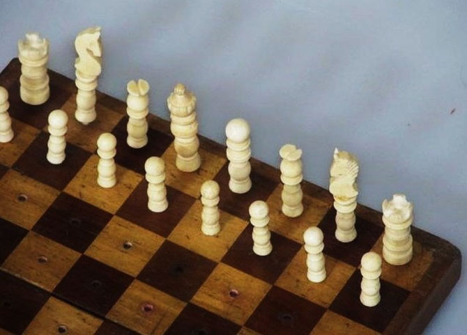 King 4,5cm   Pawn 2cm