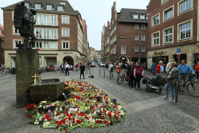 Gedenken an die Opfer von Münster
