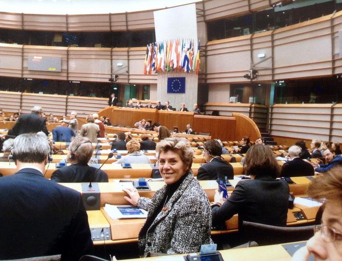 Bild: Foto:EP Plenarsaal Brüssel