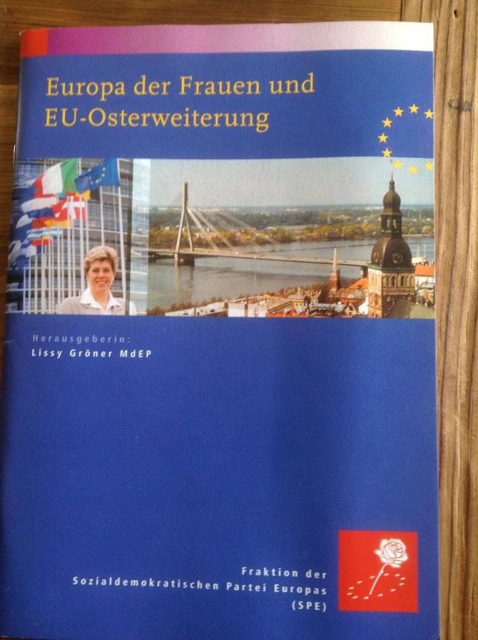 Bild: Foto: , Lissy Gröner, Frauen und EU Osterweiterung,