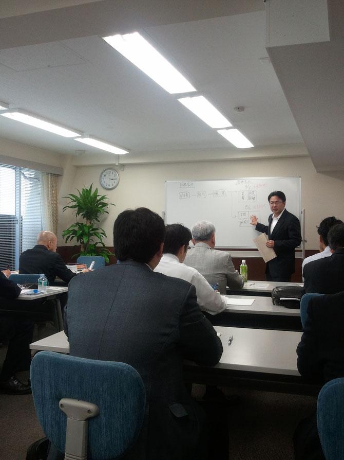 ランチェスター式・革新的財務戦略セミナーの講師。