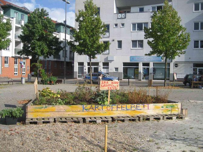 Ab geht die Lucie - Urban gardening in der Neustadt in Bremen