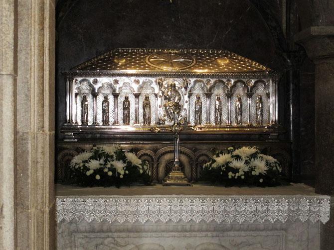Der Grab von Apostel Jakobus in Katakomben..