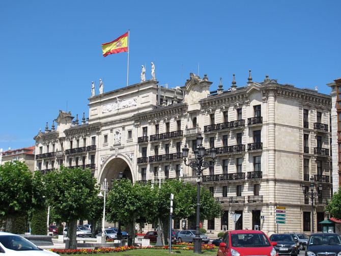 Banco de Santander in Santander.