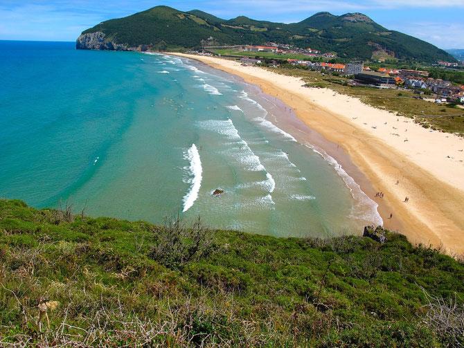 Strand von Berria nach Santona