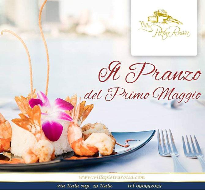 Il Primo Maggio Facciamo Lavorare le Papille Gustative www.villapietrarossa.com tel 090953043