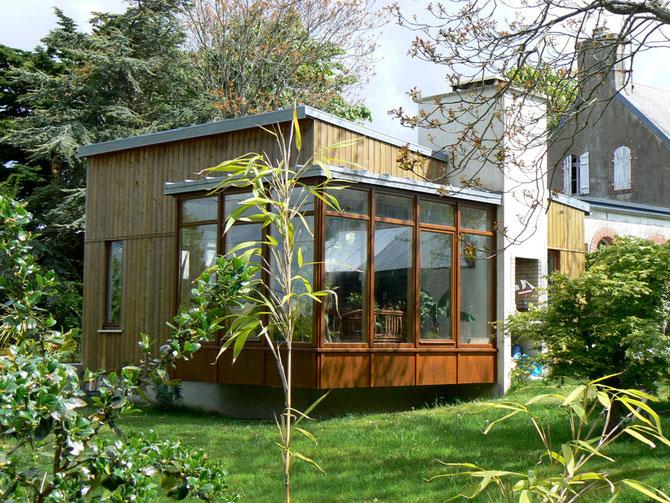 maison en bois architecte Fournier