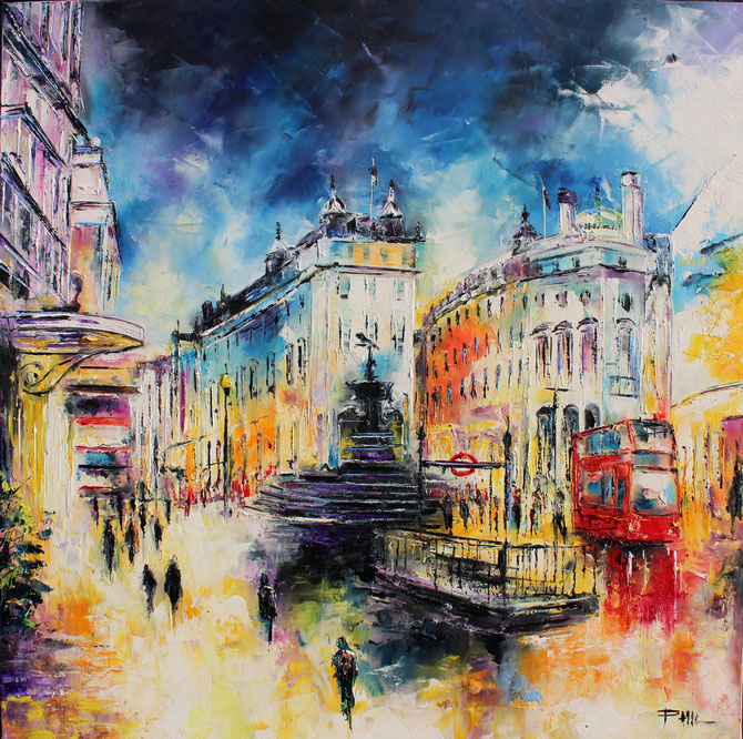 PICCADILLY CIRCUS, U K, 80 cm Disponible