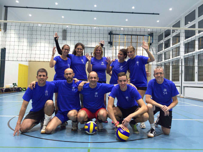 GSVZ Volleyballteam 2016