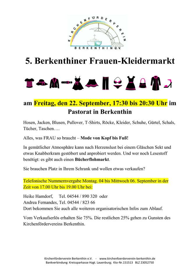 2. Berkenthiner-Frauenkleidermarkt