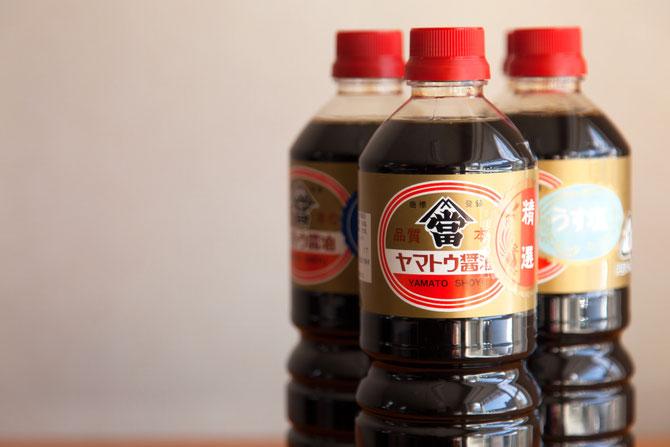 ヤマトウの醤油三種