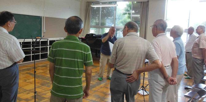 2017.8.26  テナー系パート練習