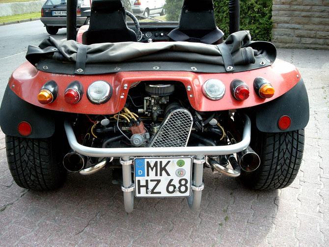 HAZ Buggy von hinten