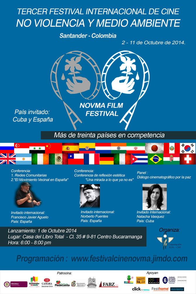 Afiche Tercer NOVMA FILM FESTIVAL