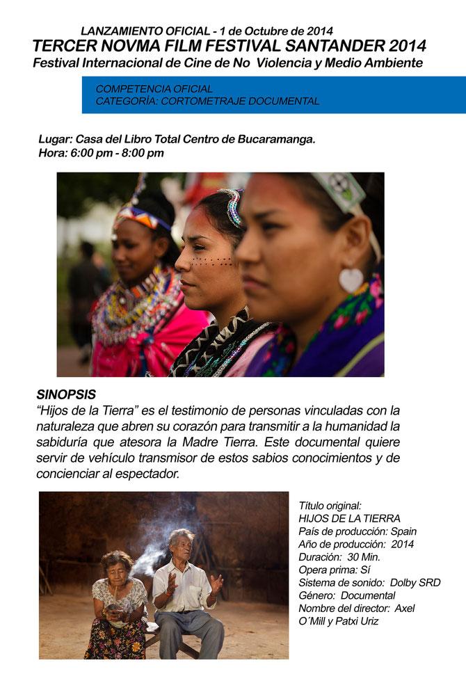 Afiche Lanzamiento NOVMA FILM FESTIVAL