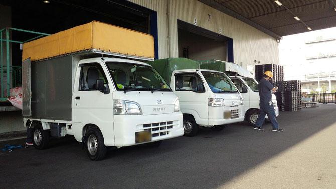 大阪市、堺市近郊にお住まいの方に軽貨物持込ドライバー募集。独立開業 オーナードライバー 運転手