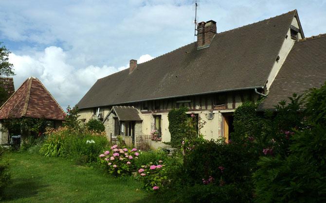 Le Gite Chandoiseau proche de Giverny, Vernon, peut accueillir de 2 à 4 personnes.
