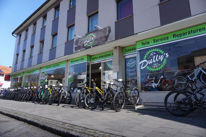 Ladengeschäft Dully's Bikestation
