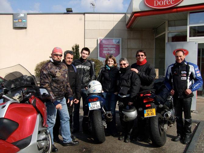 vers le Salon Moto de Lyon - 7 mars 2009.