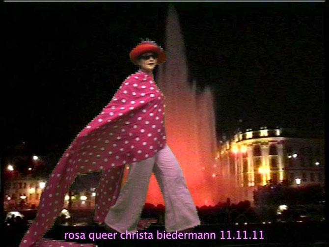 Rosa Queer VON und MIT Christa Biedermann