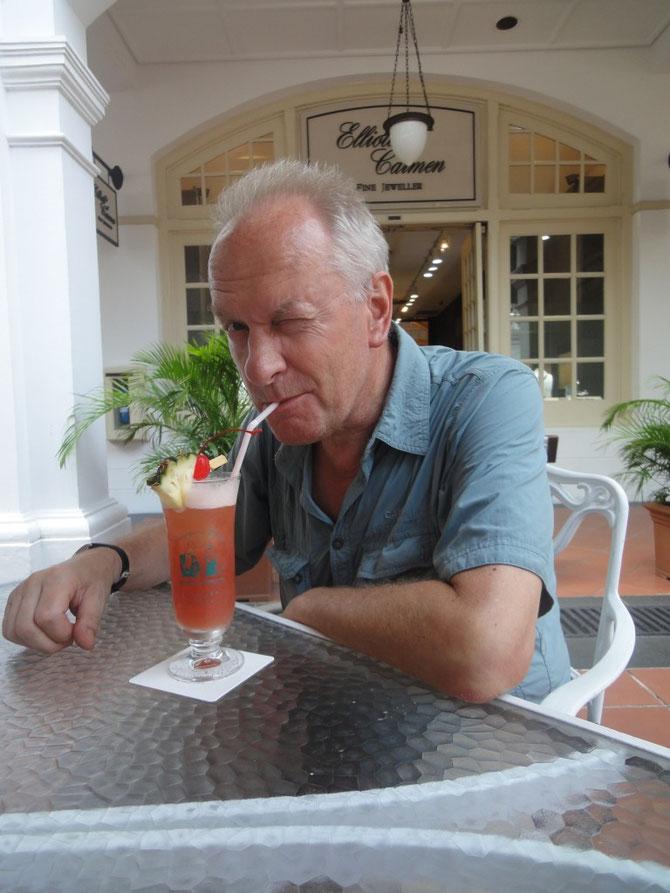 Singapur Sling im Raffles